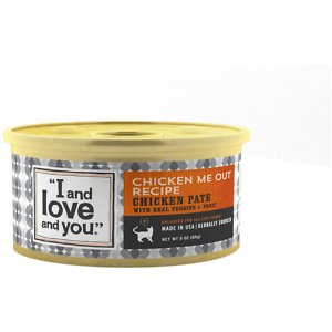 I and Love and You Chicken Me Out Pate Grain-Free Canned Cat Food