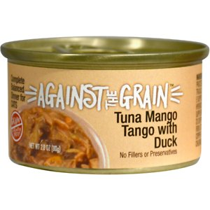 Against the Grain Tuna Mango Tango with Duck Dinner Grain-Free Wet Cat Food