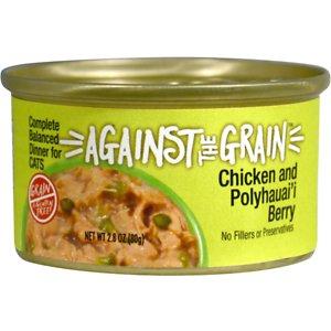 Against the Grain Chicken & Polyhauai'i Berry Dinner Grain-Free Wet Cat Food