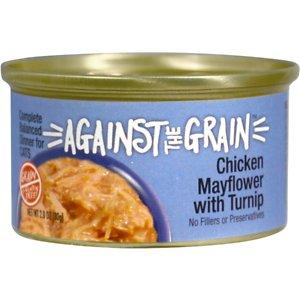 Against the Grain Chicken Mayflower & Turnip Dinner Grain-Free Wet Cat Food