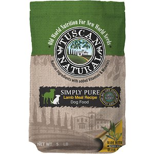 Tuscan Natural Simply Pure Lamb Meal Limited Ingredient Dry Dog Food