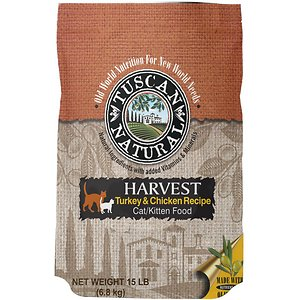 Tuscan Natural Harvest Turkey & Chicken Dry Cat Food