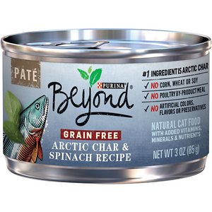 Purina Beyond Arctic Char & Spinach Pate Recipe Grain-Free Canned Cat Food