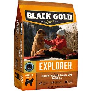 Black Gold Explorer Chicken Meal & Brown Rice Formula Dry Dog Food