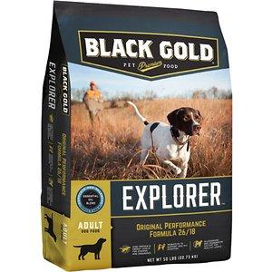 Black Gold Explorer Original Performance Formula 26/18 Dry Dog Food