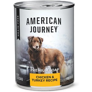 American Journey Chicken & Turkey Recipe Grain-Free Canned Dog Food
