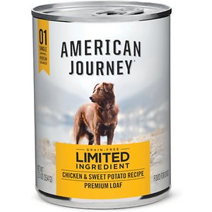 American Journey Limited Ingredient Diet Chicken & Sweet Potato Recipe Grain-Free Canned Dog Food
