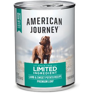 American Journey Limited Ingredient Diet Lamb & Sweet Potato Recipe Grain-Free Canned Dog Food