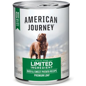 American Journey Limited Ingredient Diet Duck & Sweet Potato Recipe Grain-Free Canned Dog Food