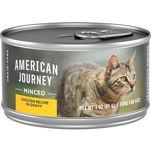 American Journey Minced Chicken Recipe in Gravy Grain-Free Canned Cat Food
