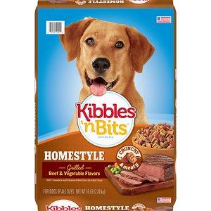 Kibbles 'n Bits Homestyle Grilled Beef & Vegetable Flavors Dry Dog Food