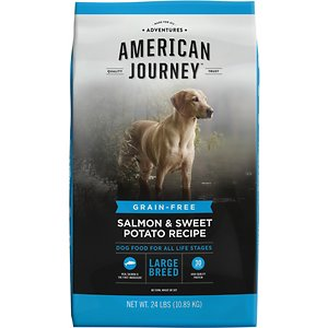 American Journey Large Breed Salmon & Sweet Potato Recipe Grain-Free Dry Dog Food