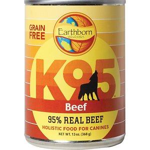 Earthborn Holistic K95 Beef Recipe Grain-Free Canned Dog Food