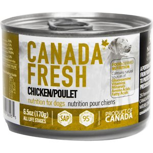 Canada Fresh Chicken Canned Dog Food