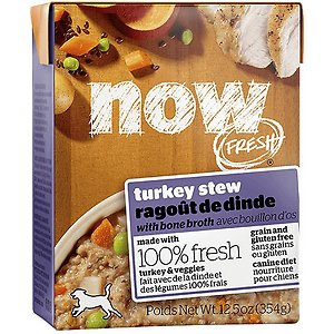 Now Fresh Grain-Free Turkey Stew