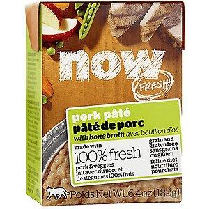 Now Fresh Grain-Free Pork Pate Wet Cat Food