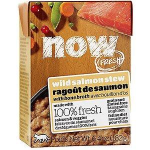 Now Fresh Grain-Free Wild Salmon Stew Wet Cat Food