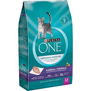Purina ONE Hairball Adult Formula Dry Cat Food