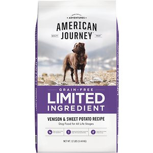 American Journey Limited Ingredient Grain-Free Venison & Sweet Potato Recipe Dry Dog Food