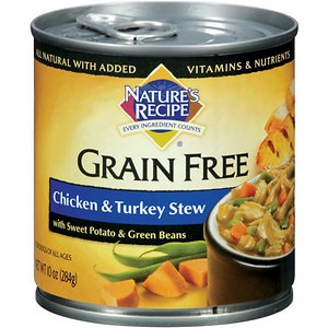 Nature's Recipe Grain-Free Chicken & Turkey Stew Canned Dog Food