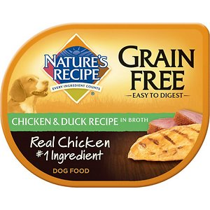 Nature's Recipe Grain-Free Chicken & Duck Recipe in Broth Wet Dog Food