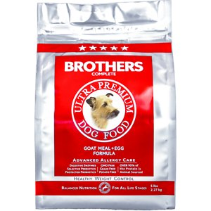 Brothers Complete Goat Meal & Egg Formula Advanced Allergy Care Healthy Weight Control Grain-Free Dry Dog Food