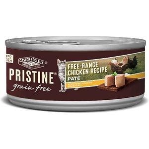 Castor & Pollux PRISTINE Grain-Free Free-Range Chicken Recipe Pate Canned Cat Food