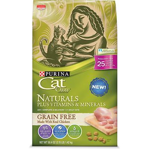 Cat Chow Naturals Grain-Free with Real Chicken Dry Cat Food