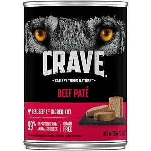 Crave Beef Pate Grain-Free Canned Dog Food