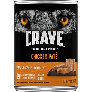 Crave Chicken Pate Grain-Free Canned Dog Food