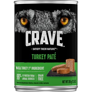 Crave Turkey Pate Grain-Free Canned Dog Food