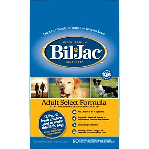 Bil-Jac Adult Select Chicken Recipe Dry Dog Food