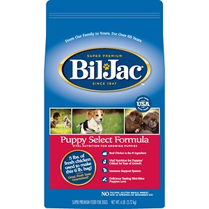 Bil-Jac Puppy Select Chicken Recipe Dry Dog Food