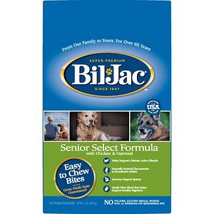 Bil-Jac Senior Select Chicken & Oatmeal Recipe Dry Dog Food