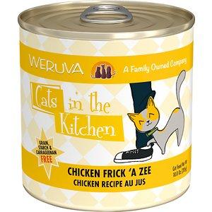 Weruva Cats in the Kitchen Chicken Frick 'A Zee Chicken Recipe Au Jus Grain-Free Canned Cat Food