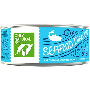 Only Natural Pet PowerPate Seafood Dinner Grain-Free Canned Cat Food