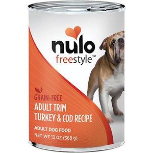 Nulo Freestyle Turkey & Cod Recipe Grain-Free Adult Trim Canned Dog Food