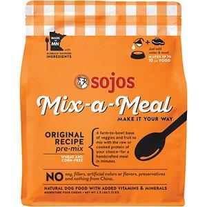 Sojos Mix-a-Meal Original Recipe Pre-Mix Dry Dog Food