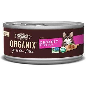 Castor & Pollux Organix Grain-Free Organic Kitten Recipe Canned Cat Food