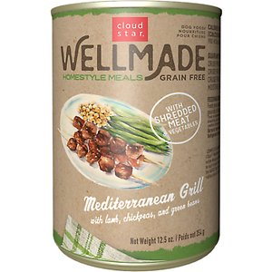 Cloud Star WellMade Homestyle Meals Mediterranean Grill With Lamb Recipe Grain-Free Canned Dog Food
