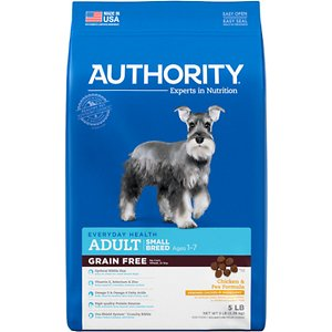 Authority Chicken & Pea Formula Small Breed Grain-Free Adult Dry Dog Food