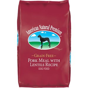 American Natural Premium Grain-Free Pork Meal with Lentils Recipe Dry Dog Food