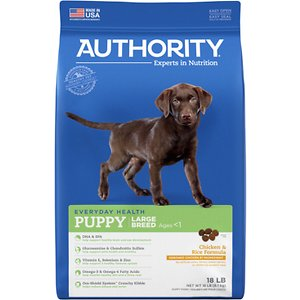 Authority Chicken & Rice Formula Large Breed Puppy Dry Dog Food