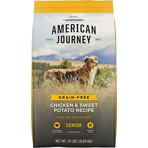 American Journey Chicken & Sweet Potato Recipe Grain-Free Senior Dry Dog Food