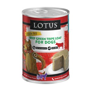 Lotus Grain-Free Green Tripe Loaf Canned Dog Food