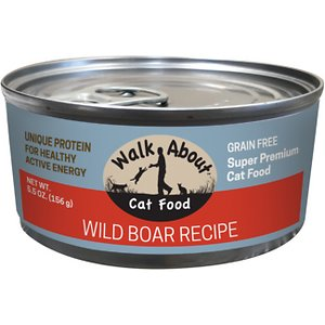 Walk About Grain-Free Wild Boar Canned Cat Food