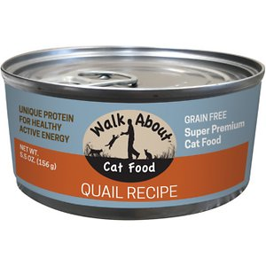 Walk About Grain-Free Quail Canned Cat Food