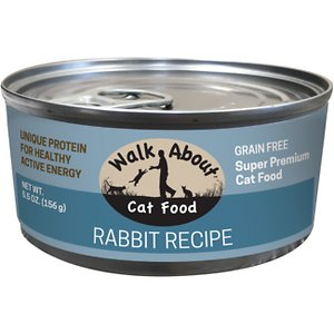 Walk About Grain-Free Rabbit Canned Cat Food