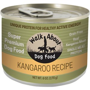 Walk About Grain-Free Wild Kangaroo Recipe Dog Food