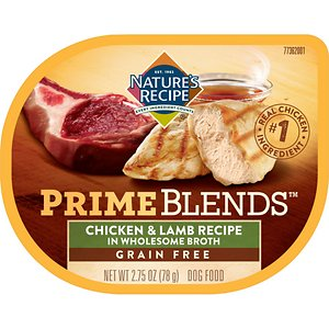 Nature's Recipe Prime Blends Chicken and Lamb Recipe Grain-Free Wet Dog Food